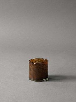 Tell Me More Candleholder Lyric Dark Brown XS