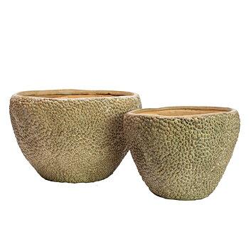 KOBE Kruka Keramik Set om 2 st