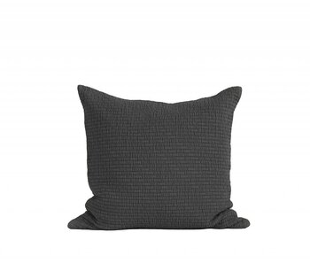 Tell Me More Brick Cushion Cover 50x50 Dark Grey