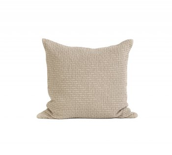 Tell Me More Brick Cushion Cover 50x50 Sand