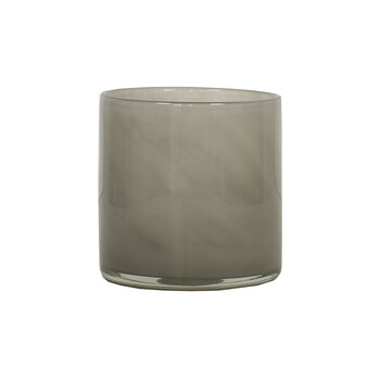 Tell Me More Candleholder Lyric Warm Grey Small