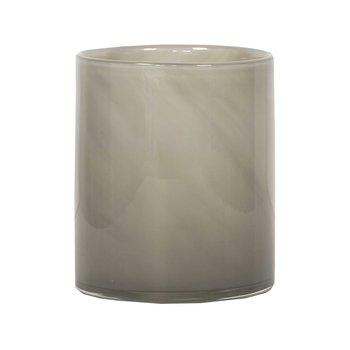 Tell Me More Candleholder Lyric Warm Grey Medium