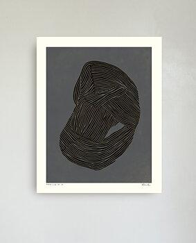 Hein Studio - Round Line no. 03, 40x50 cm
