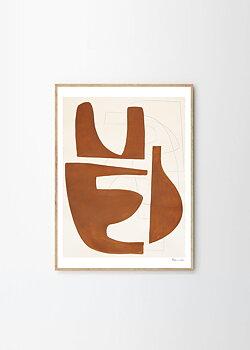 T P C - Berit Mogensen Lopez, Sienna 40x50 cm