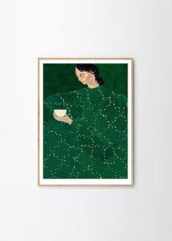 T P C - Sofia Lind, Coffee Alone At Place De Clichy 50x70 cm