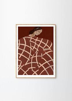 T P C - Sofia Lind, Waiting At Art Et Metiers 50x70 cm