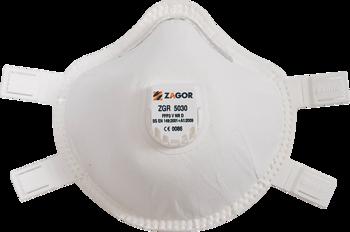 Ansiktsmask FFP3 med ventil