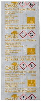 Oasis vattenreningstabletter 8,5 mg