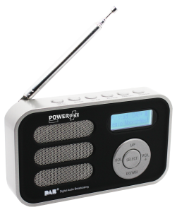PowerPlus Stork solcellsradio