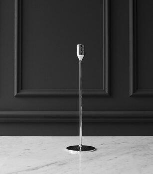 Skultuna Nattlight candlestick medium silver Design Richard Hutten