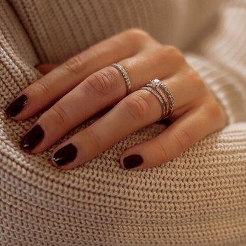 Ernst Forssell Collectées Julie, Margaux, Bella 1 och Bella 2 med labbodlad diamant