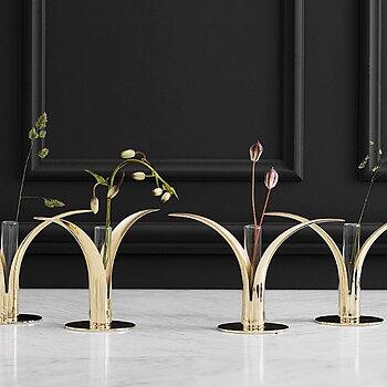 Skultuna The Lily Candlestick mässing Design Ivar Ålenius Björk