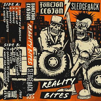 Foreign Legion / Sledgeback – Reality Bites - Kassettband