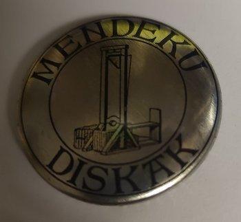 Mendeku Diskak - Silver - pin