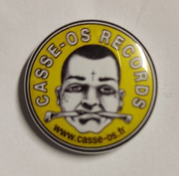 Casse-Os Records - pin