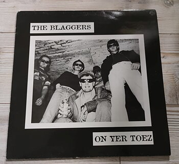 The Blaggers – On Yer Toez - LP (Second hand)