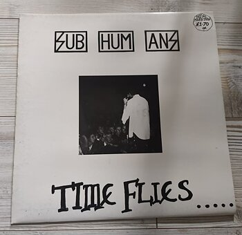 Subhumans – Time Flies... ...But Aeroplanes Crash - LP (Second hand)