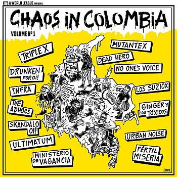 Chaos In Colombia Vol.1 - LP (Röd)