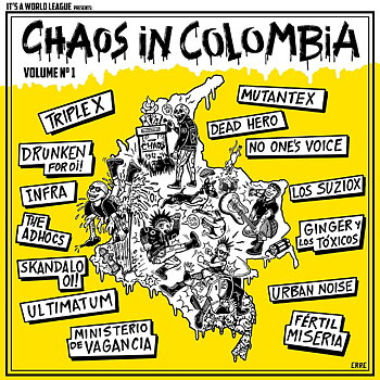 Chaos In Colombia Vol.1 - LP (Blå)