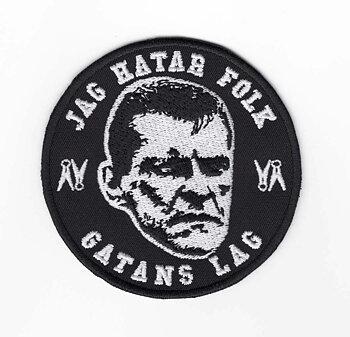 Gatans Lag - Hata Folk - Tygmärke
