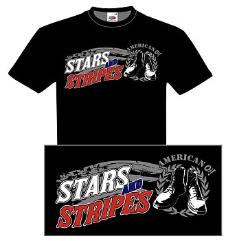 Stars n Stripes - T-shirt - DAM
