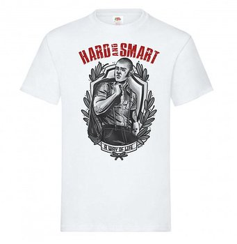 Hard And Smart - A way of life - T-shirt (Vit)