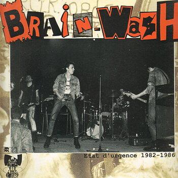 Brainwash - Etat d'urgence 1982-1986 - LP