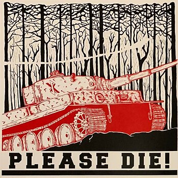 Please Die! - Fuck Your Pma - LP (red) PRE-ORDER