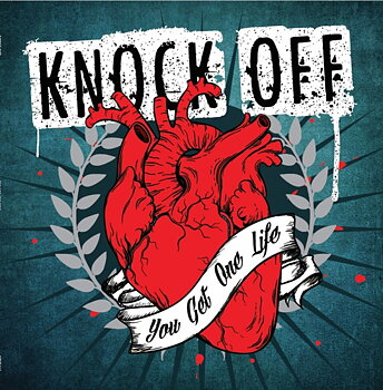 Knock Off - You get one life - LP