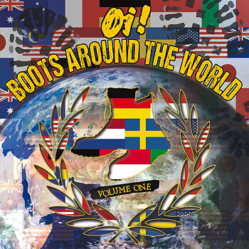Oi! Boots Around The World Vol.1 - Samlings LP