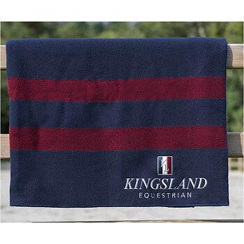 Kingsland Ull  Skrittedekken navy/burgunder