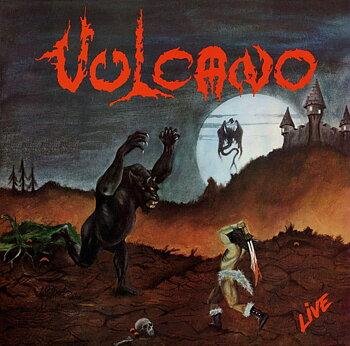 Vulcano - Live! - LP