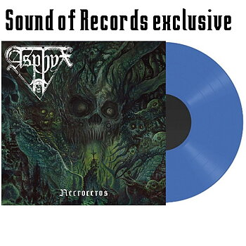 Asphyx  - Necroceros - SoR exclusive - Transparent Blue LP