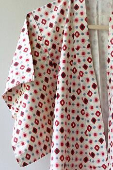 Vintage Kimono vit