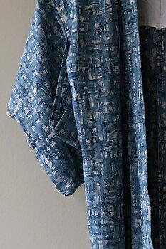 Vintage Kimono blå