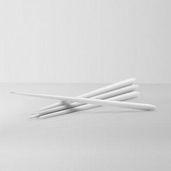 STOFF Nagel konformade ljus by ester & erik 6-pack, Vit