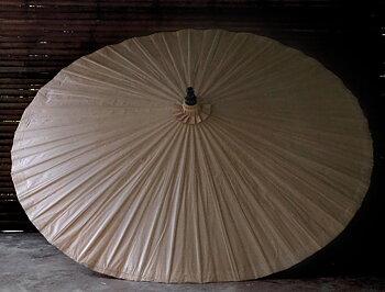 Bambuparasoll nude diameter 200 cm