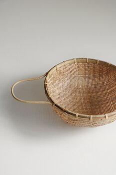Durkslag i bambu Ø22cm