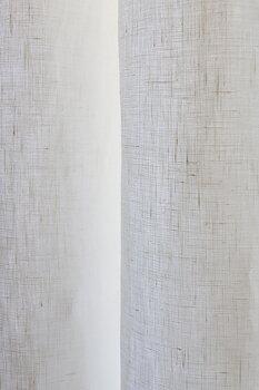 Gardin Crisp hellinne Kaolinvit enkel bredd  Höjd 250 cm