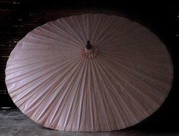 Bambuparasoll rosa diameter 200 cm