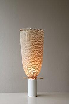 Lampfot mellan, vit