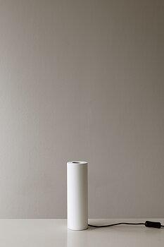 Lampfot hög, vit