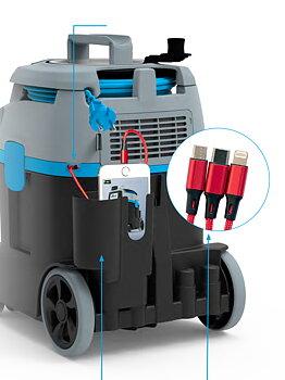 Hållare med USB-laddare 3in1 (2020)