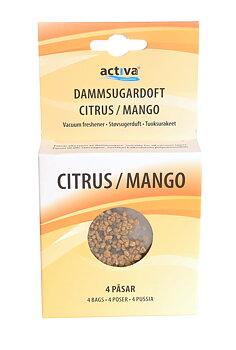 Dammsugaruppfräschare Citrus Mango 4-pack