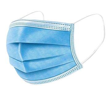Munskydd öronelastik Type IIR blå