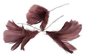 Fjäderblommor Mörkrosa/lila