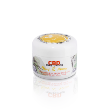 Pura Vida CBD Calming for Sensitive skin. Moisturiser with Hemp & Honey 30ml
