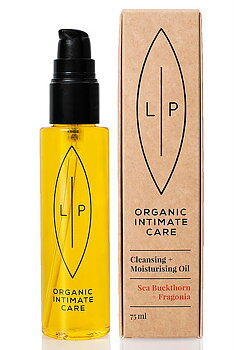 Lip Intimate Care - Cleansing & Moisturising Oil Fragonia + Sea Buckthorn