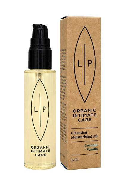 Lip Intimate Care - Cleansing & Moisturising Oil Coconut + Vanilla
