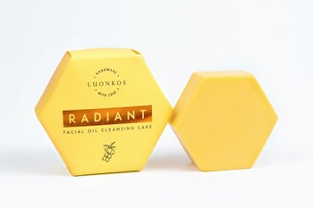 Luonkos Cleansing Cake Radiant – Sea buckthorn. No fragrance